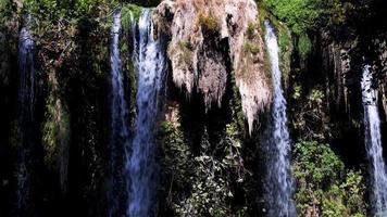 Wasserfall in wilder Natur video