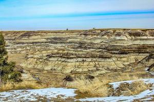 Badlands mountains during the day photo