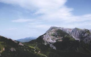 Natural mountain landscape photo