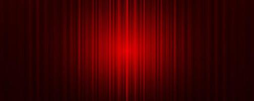 Vector Red curtain with Light stage background,modern style.