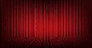 Vector de fondo de cortina roja moderna, estilo moderno.