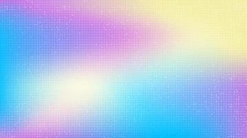 Fondo de tecnología colorida, diseño de concepto digital y unicon de alta tecnología, espacio libre para texto, ilustración vectorial. vector