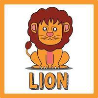 cute kawaii Lion animal drawings illustrations art vector