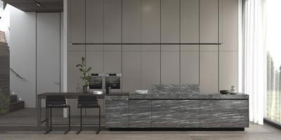 cocina moderna de lujo foto