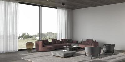 Contemporary living room photo