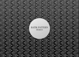 illustration graphic vector of beatiful batik pattern