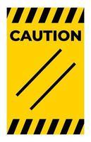 precaución, restablecer, símbolo, señal, blanco, plano de fondo vector