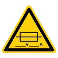 Fuse Writable Symbol Sign vector