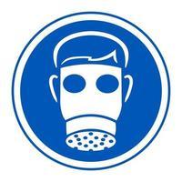 Symbol Wear Full Face vector