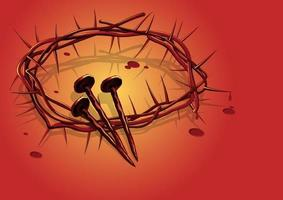 A Crown of Thorns vector