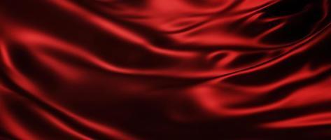 Dark and red silk photo
