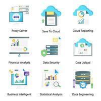 Data Storage and Data Presentation vector