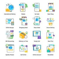 Shopping Promotion and Shopping Website vector