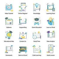 Digital Education Gradient vector