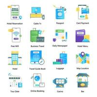 Travel Guides and Technology vector