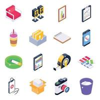 Office Accessories and Stationery vector