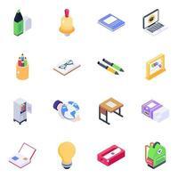 Educational Equipment Elements vector