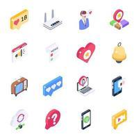 Multimedia and Social vector
