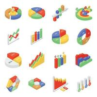 Graphical Representation Elements vector