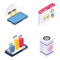 Cloud Technology and Analytics vector