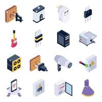 Electronics and Power Supply vector