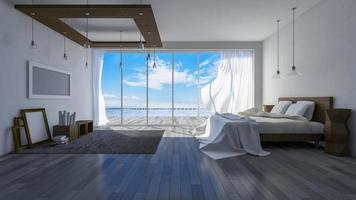 3d seaside room photo