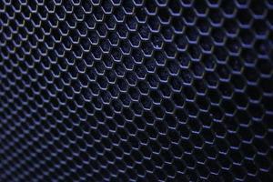 textura de rejilla de altavoz de hierro negro foto