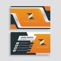 Professional Modern Business Card Template vector
