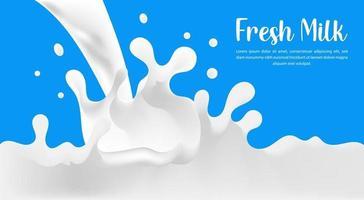Milk Vector eps. 10
