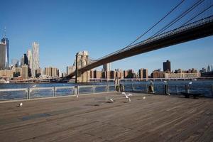 Brooklyn, New York City, NY, March 2020 - Brooklyn Bridge photo