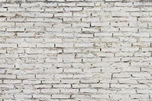 Vintage bricks of an urban building photo