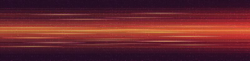 Panorama Light Speed Line Technology Background vector