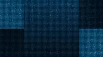 Modern Digital microchip on technology Background vector
