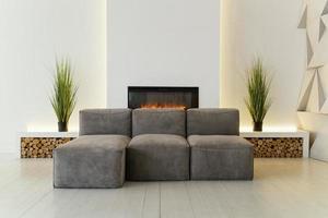 Room interior design for new home photo