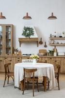 Kitchen table furniture photo
