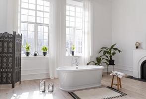 Designer luxury bathroom photo