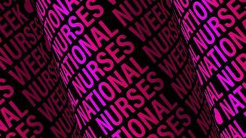texte de la semaine nationale des infirmières video