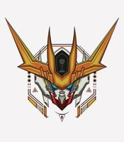 Robot geometric head vector