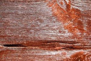 Fondo de madera roja vieja y vintage foto