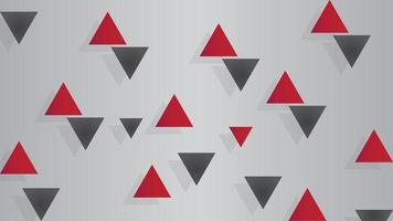 Abstract background, dark red and dark black shapes vector