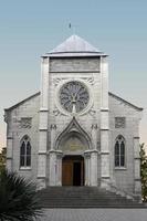 Iglesia Católica. yalta, crimea. foto