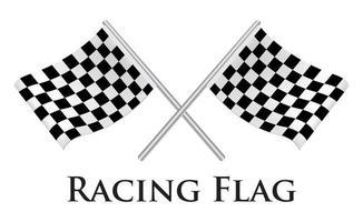Racing Flag illustration vector