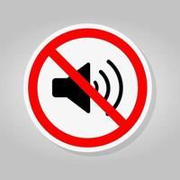No Sound icons Sign vector