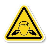 señal de símbolo de ruido vector