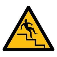 Beware Step Symbol vector