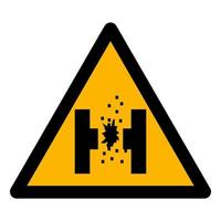 Danger Of Molten Metal Symbol Sign vector