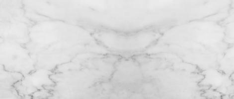 Patrón de naturaleza hermosa de mármol blanco para el fondo de diseño de arte foto
