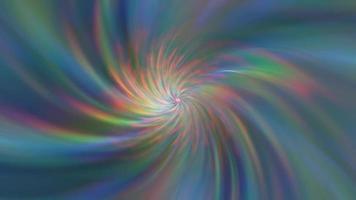 dégradé avec des rayons arc-en-ciel rotatifs video