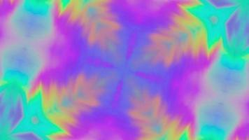 Fondo de caleidoscopio giratorio de arco iris video
