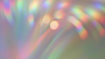 Rainbow Bokeh Background video